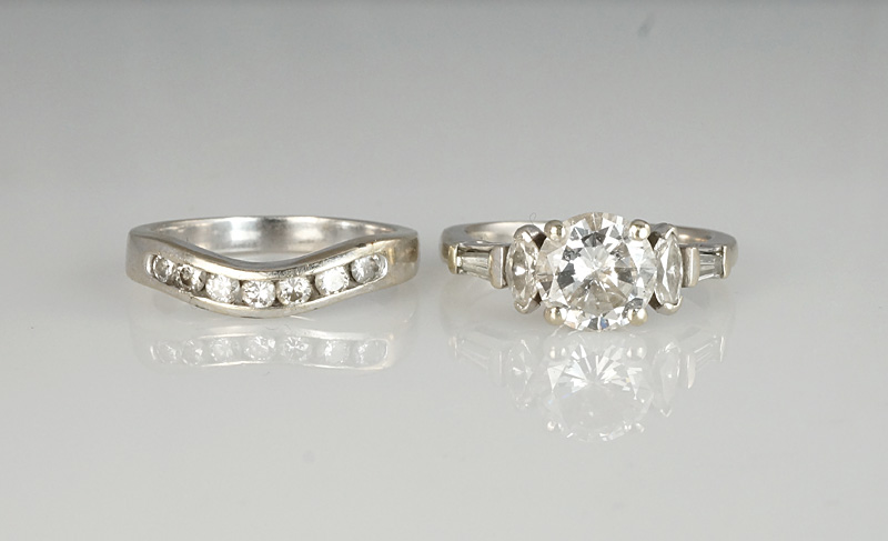 Re-vamping of outdated engagement ring and wedding ring
