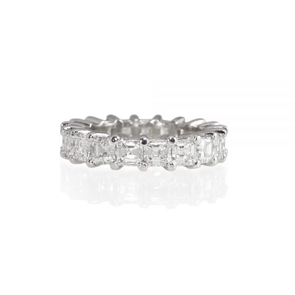 Jillian Asscher Cut Diamond Eternity Ring
