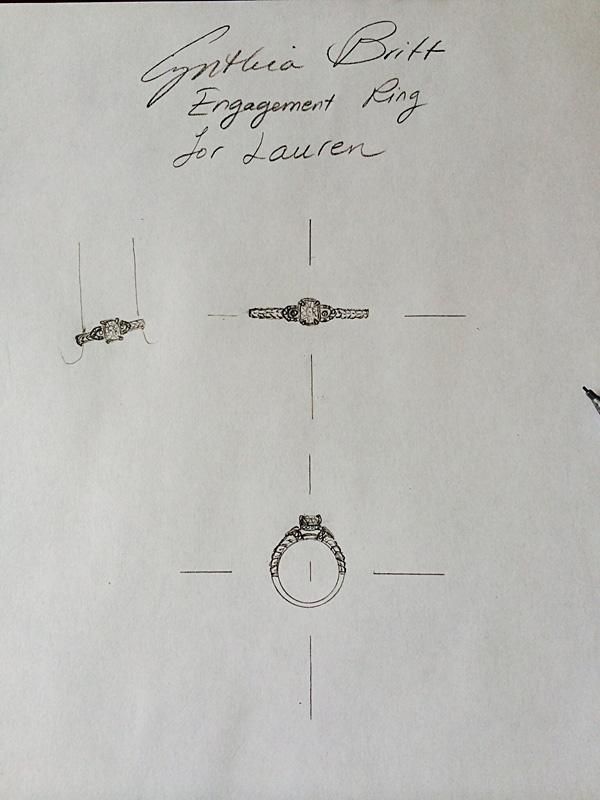 designer engagement ring boston