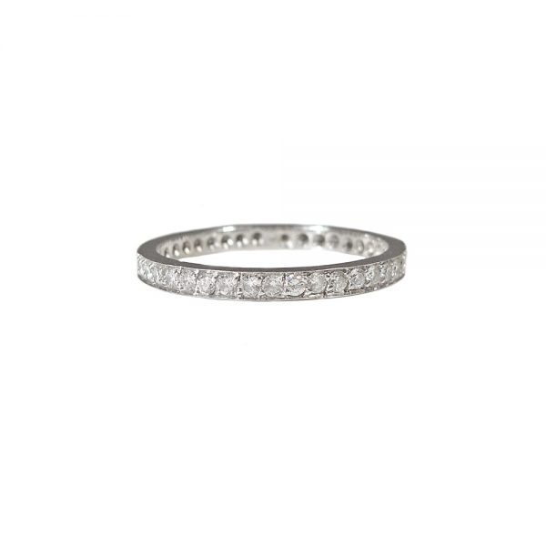 Hand Made Diamond Eternity Band
