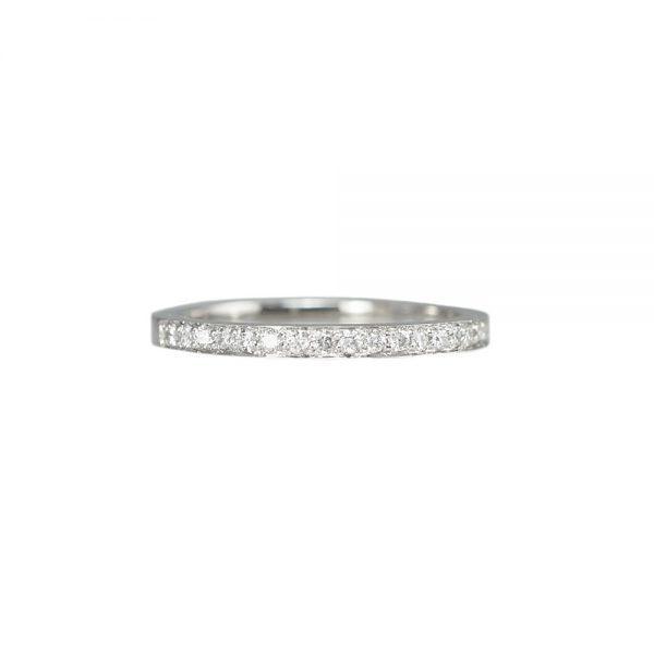 Custom Made Diamond Wedding Band-0