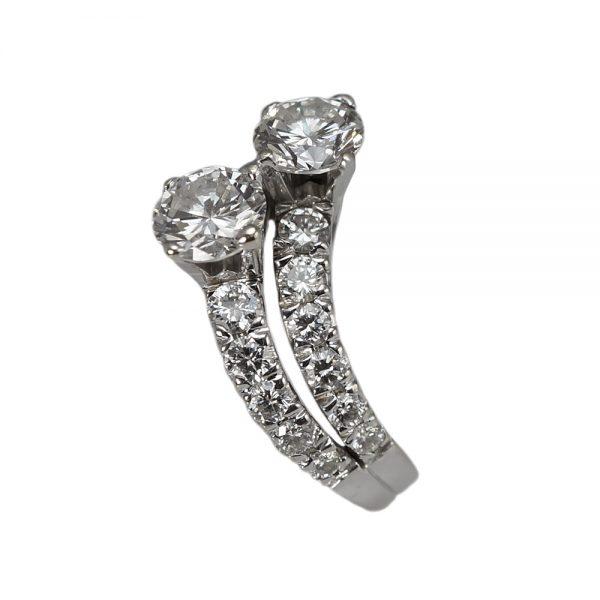 Lidia Wave Diamond Engagement Ring by Cynthia Britt-1458