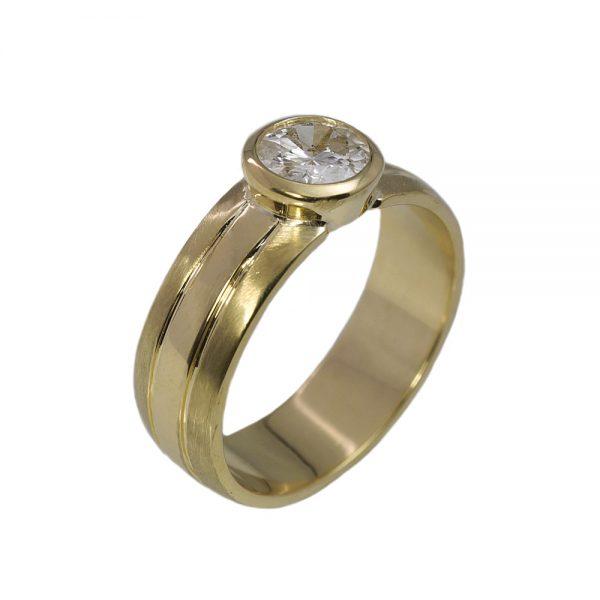 Matthew Men's Diamond Wedding Ring-1423