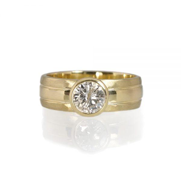 Matthew Men's Diamond Wedding Ring-0