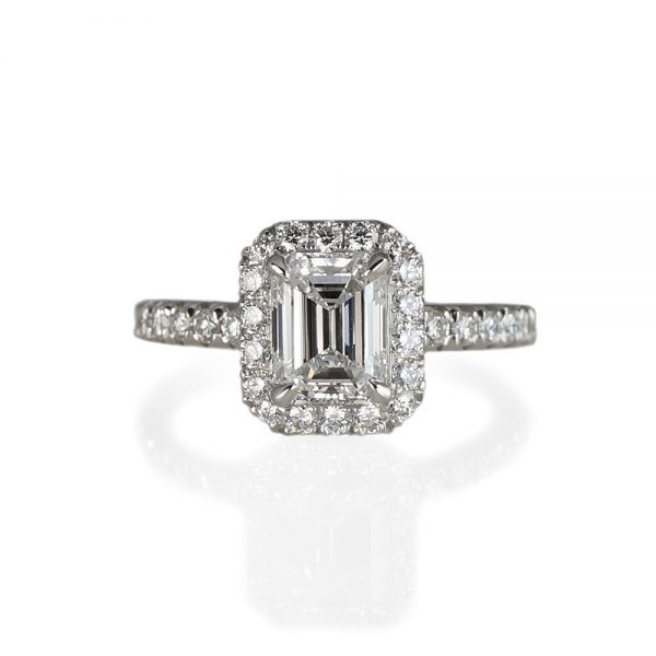 Roxana Custom Halo Diamond Engagement Ring-0