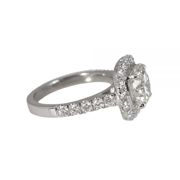 Tracey Custom Halo Diamond Engagement Ring-1388