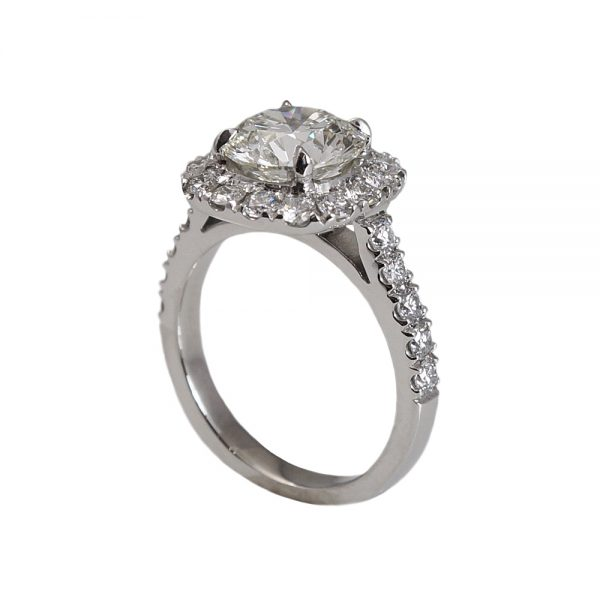 Tracey Custom Halo Diamond Engagement Ring-1387