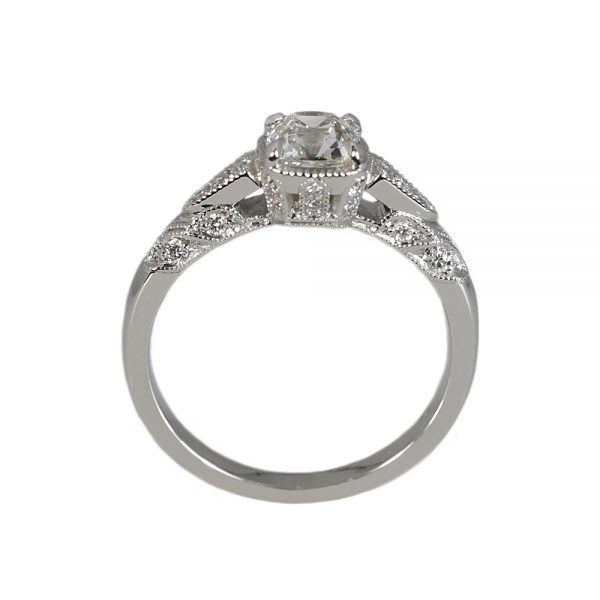 Jillian Antique Look Engagement Ring-1542
