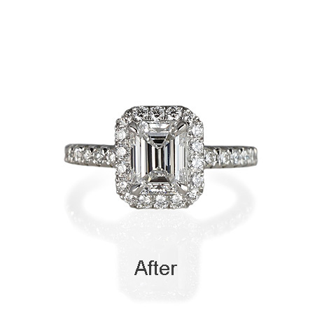 Engagement Ring After Halo