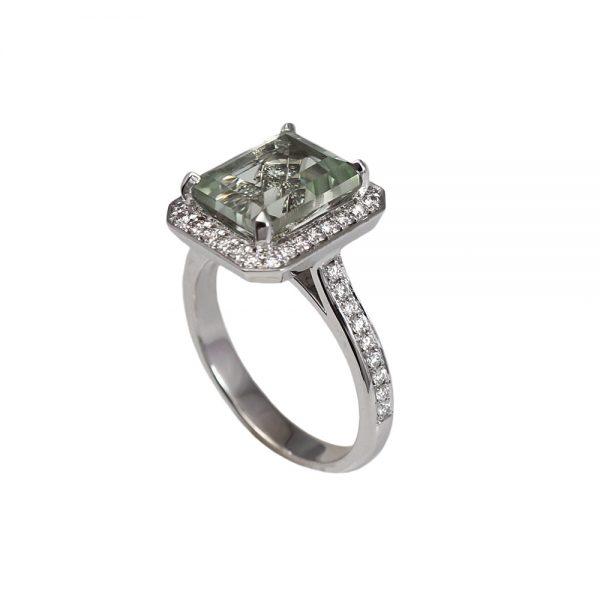 Danielle Prasiolite Engagement Ring-1589
