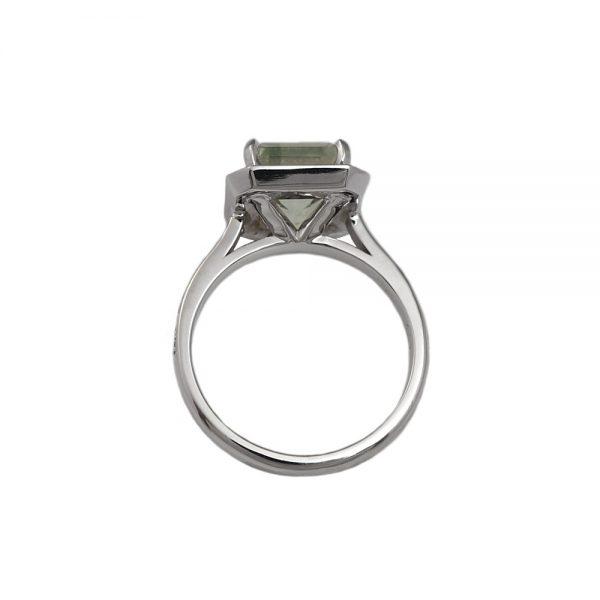 Danielle Prasiolite Engagement Ring-1588