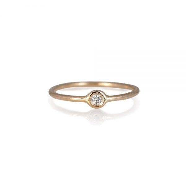 Small Diamond Ring-0