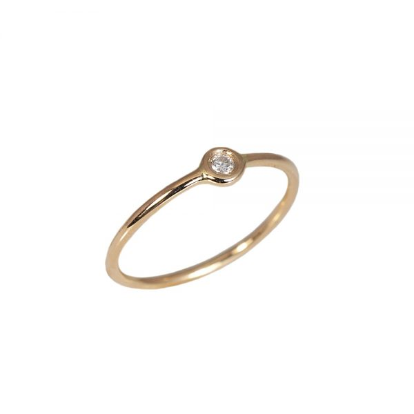 Small Diamond Ring-1594
