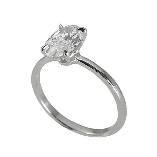 Laura Oval Solitaire Engagement Ring