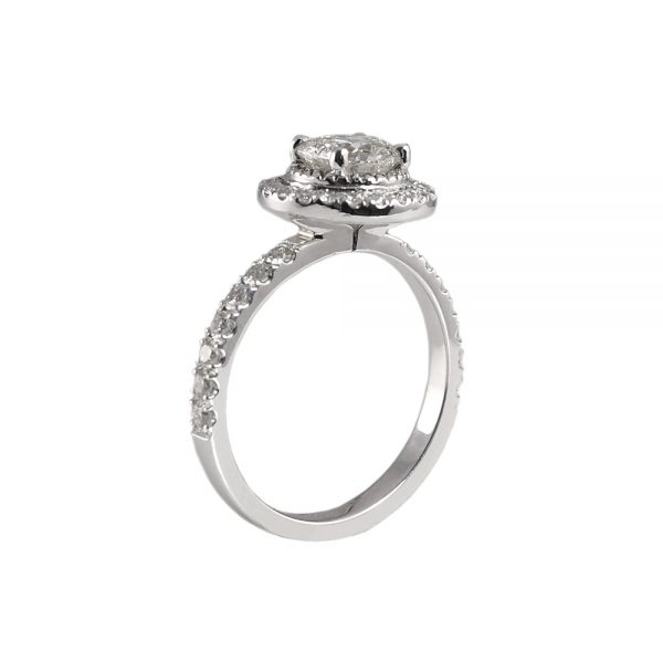 Julie Round Halo Engagement Ring-1729