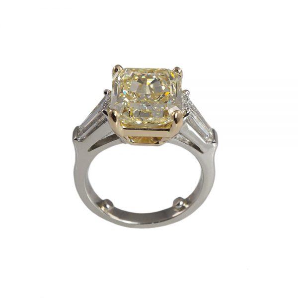 Maggie Fancy Yellow Diamond Engagement Ring-1629