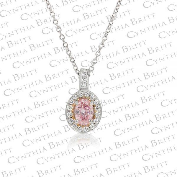 Argyle Pink 0.32 Carat Diamond Pendant-0