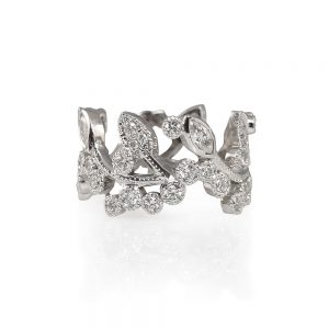 Alexandra Diamond Vine Ring-0