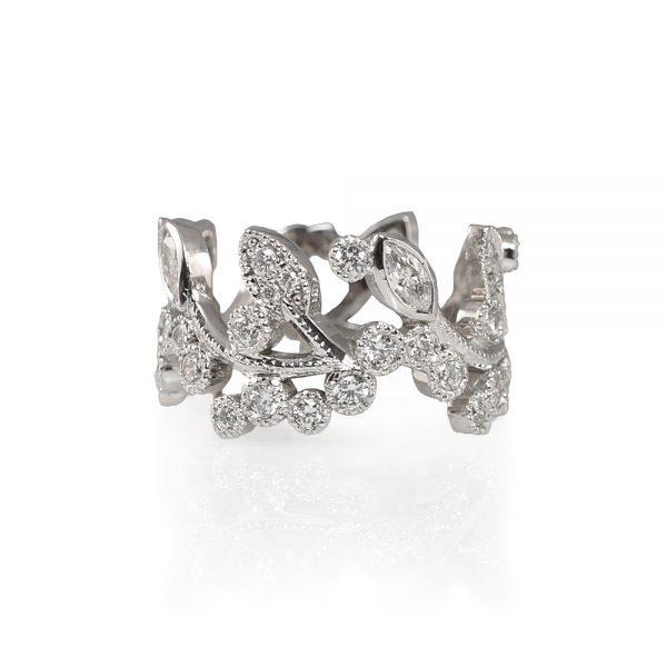 Alexandra Diamond Vine Ring-0