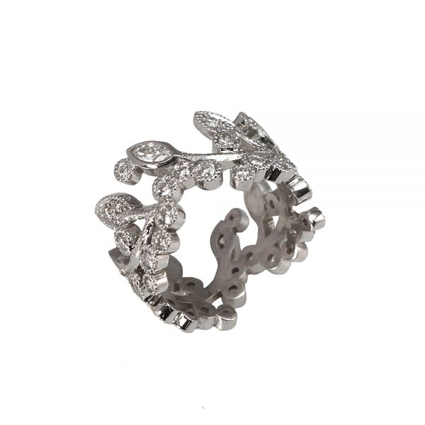 Alexandra Diamond Vine Ring-1665