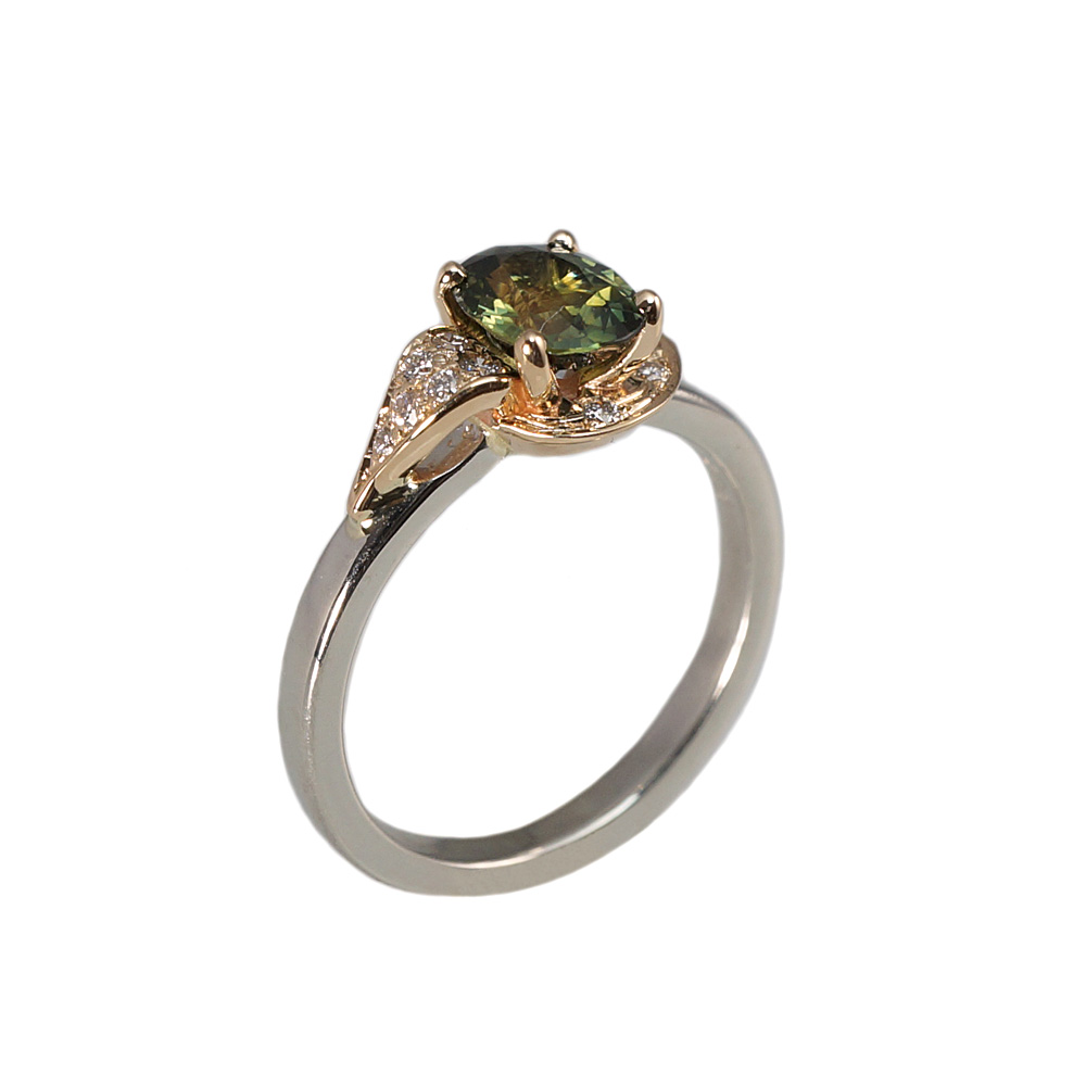 diamond goldsmith gold product mh wedding ring green rings mhgoldsmith tourmaline peridot original by and