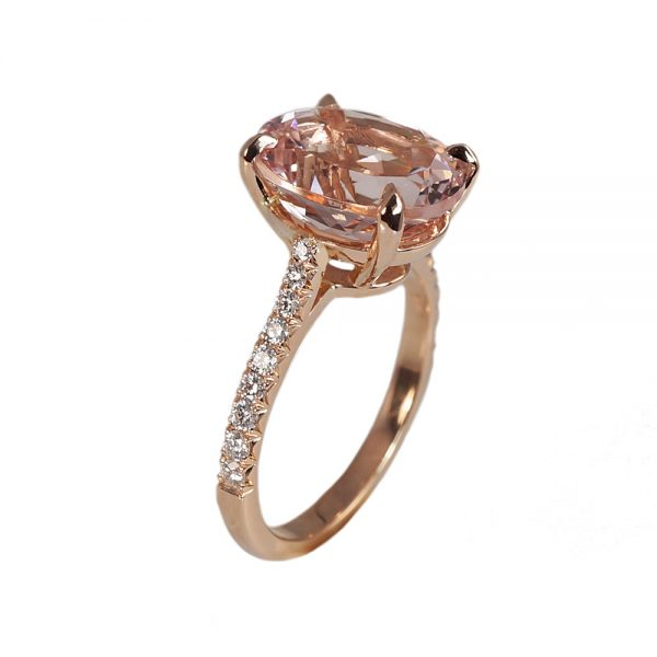 Serena Morganite Engagement Ring-1654