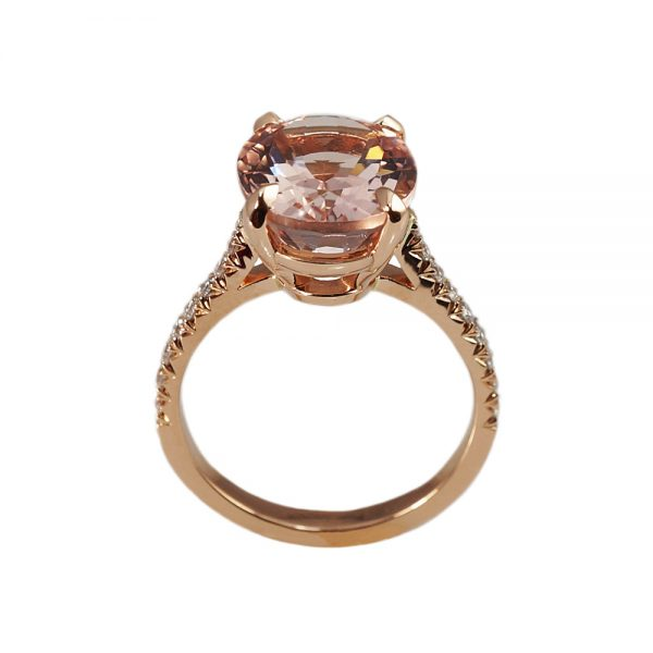Serena Morganite Engagement Ring-1653