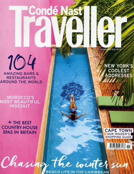 Traveller Magazine cover Nov15