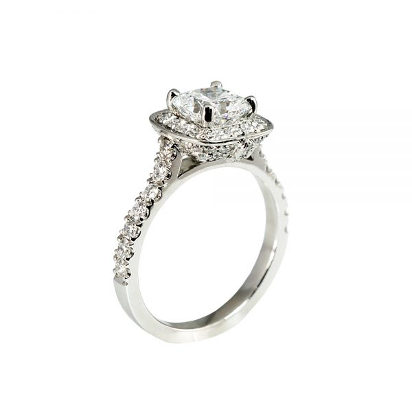 Kate Cushion Engagement Ring-1734