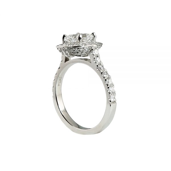 Kate Cushion Engagement Ring-1733