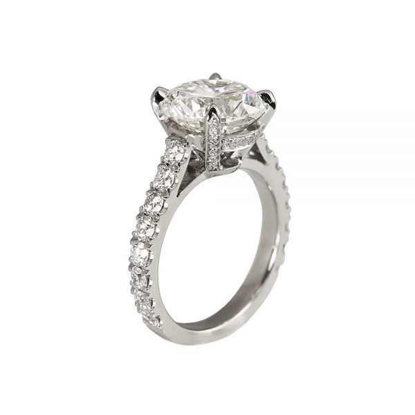 Lisa Diamond Prong Engagement Ring-1737