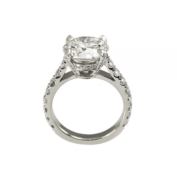 Lisa Diamond Prong Engagement Ring-1736
