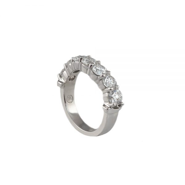 Sophia Curved Diamond Wedding band-1727