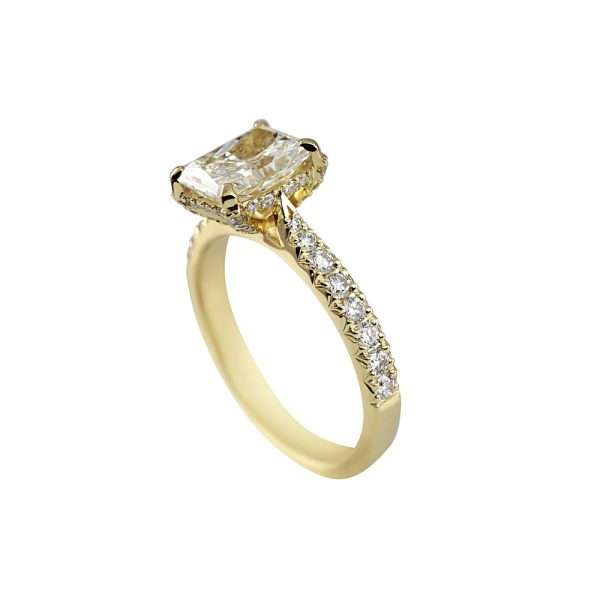 Becky Diamond Prong Engagement Ring-1774