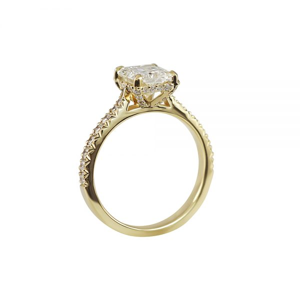 Becky Diamond Prong Engagement Ring-1773