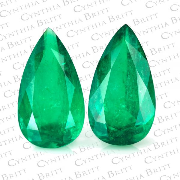 Loose Pear Shape Emeralds-0