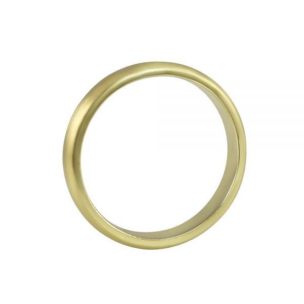 Nick Men's Green Gold Wedding Band-1865