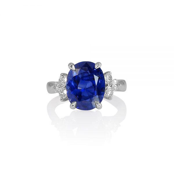 Theodora Sapphire and Diamonds Engagement Ring-0