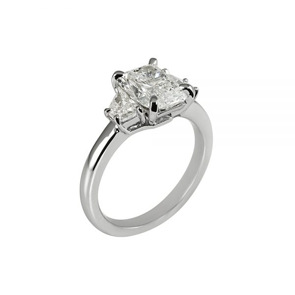 Kelsey Radiant Cut Three Stone Engagement Ring-1878