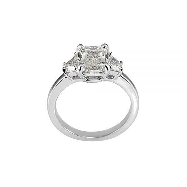 Kelsey Radiant Cut Three Stone Engagement Ring-1877