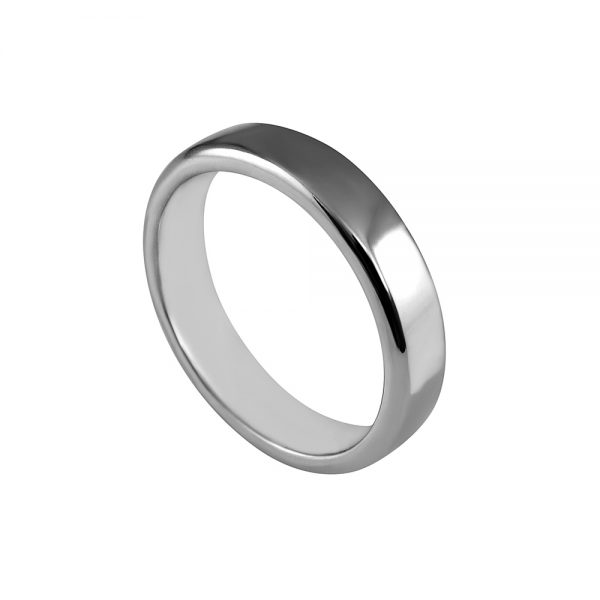 William Platinum Men's Wedding Band-1870