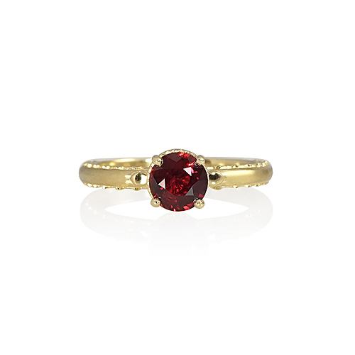 Ruby Engagement Ring by Cynthia Britt