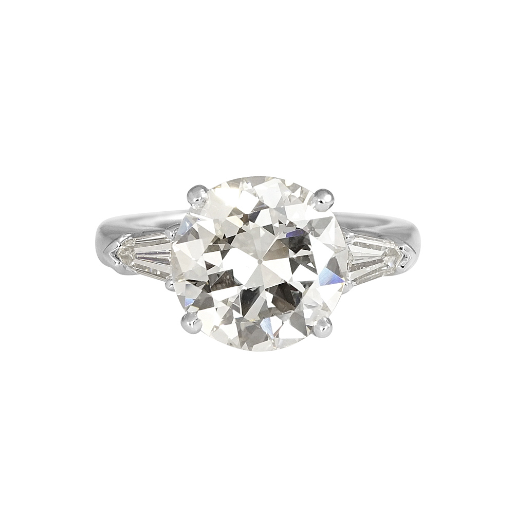 katie bullets withtapered stone britt tapered rings with ring engagement three threestone product old cut cynthia diamond bullet european round