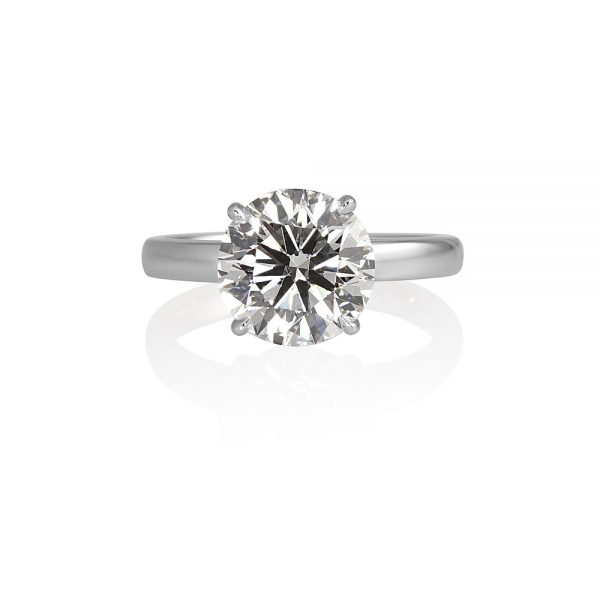 Cynthia Britt Solitaire Engagement Ring For Tehsina-0