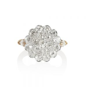 Alejandra Diamond Cluster Ring-0