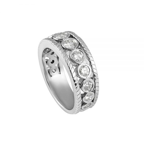 Tricia Twelve Diamond Wedding Ring-1969