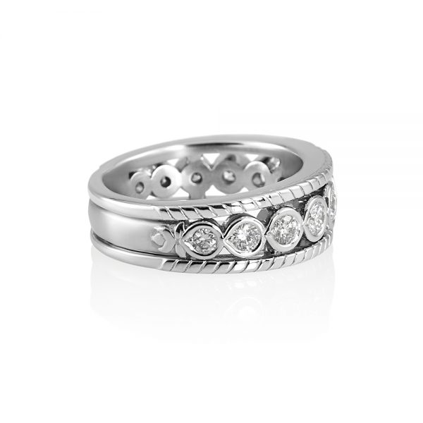 Tricia Twelve Diamond Wedding Ring-1968