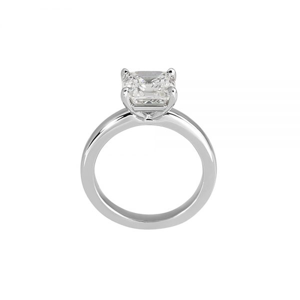 Cynthia Britt Solitaire Asscher Cut Diamond For Christina-2018