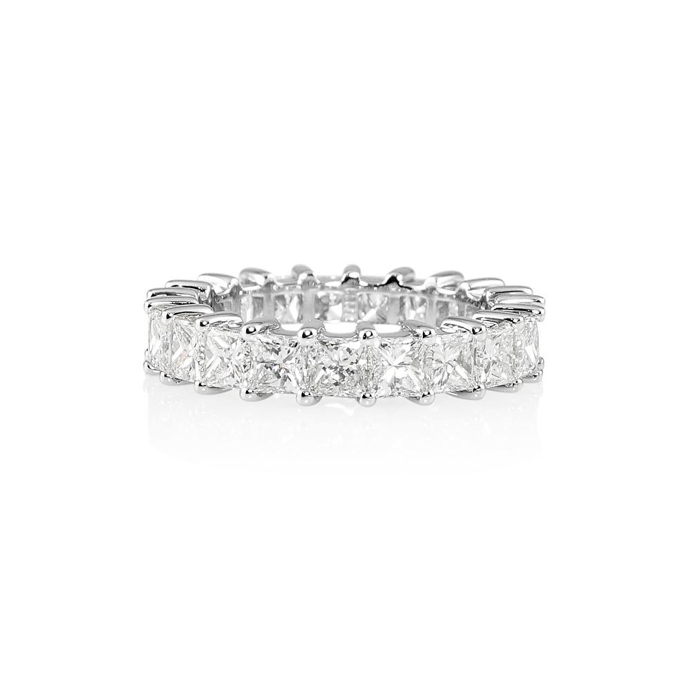 Lara Princess Cut Diamond Eternity Ring-0 13b8ead2a4