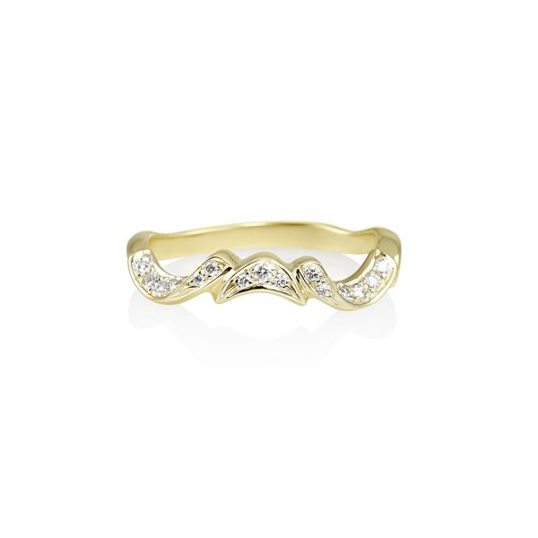 Laura Hand Carved Vine Ring-0